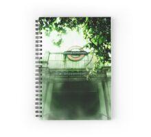 Haunted London - Embankment Spiral Notebook