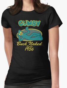 naked you Womens Fitted T-Shirt