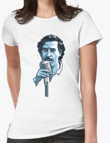 Pablo Escobar 2 Womens Fitted T-Shirt