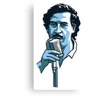 Pablo Escobar 2 Canvas Print