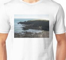 Rough Coast - Morning Light on a Sea Cliff in Scotland Unisex T-Shirt