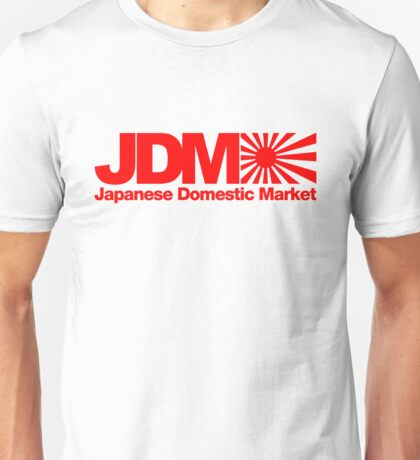 Japanese Domestic Market JDM (1) Unisex T-Shirt