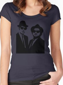 silhouette art Women's Fitted Scoop T-Shirt