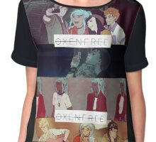 Oxenfree collage Chiffon Top