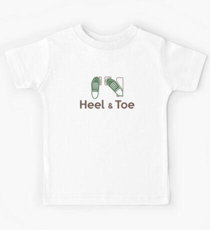 Heel & Toe (5) Kids Tee