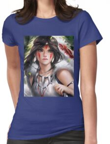 San Womens Fitted T-Shirt