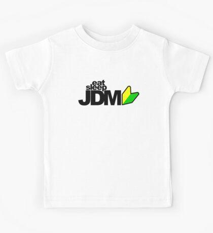 Eat Sleep JDM (4) Kids Tee
