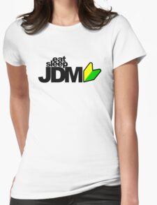 Eat Sleep JDM (4) Womens Fitted T-Shirt