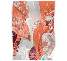 Flower Jungle 3 - Autumn Poster