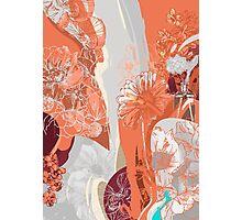 Flower Jungle 3 - Autumn Photographic Print