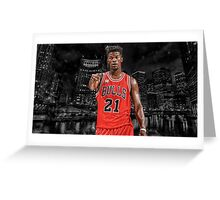 Jimmy Butler - Chicago's Finest Greeting Card
