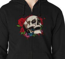 Poison skull Zipped Hoodie