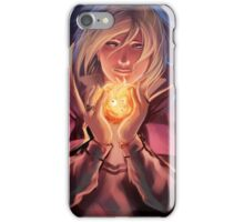 Howl and Calcifer  iPhone Case/Skin