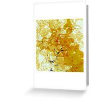 20160929 orange oblivion no. 1 Greeting Card