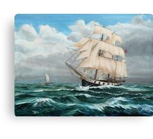 HMS Beagle, Darwin's Ship 1831/6 Canvas Print