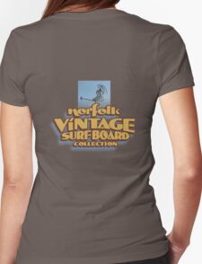 Norfolk Vintage Surfboard Collection. Womens Fitted T-Shirt