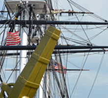 United States Ship Constitution Sticker