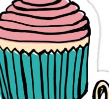 Hello, Cupcake! Sticker