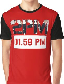 2PM Active T-shirt Jun.k Nichkhun KPOP Graphic T-Shirt