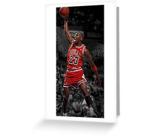 Michael Jordan - Flight Greeting Card