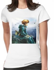 Nausicaa of the Valley of the Wind Womens Fitted T-Shirt