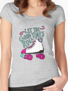 Let the Good Times Roll Women's Fitted Scoop T-Shirt