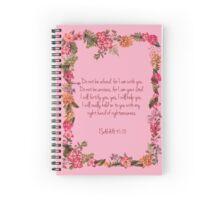 Isaiah 41:10 Spiral Notebook