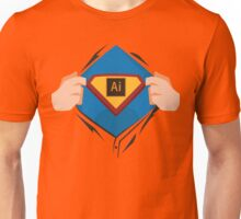 Superdesigner! — Illustrator version Unisex T-Shirt