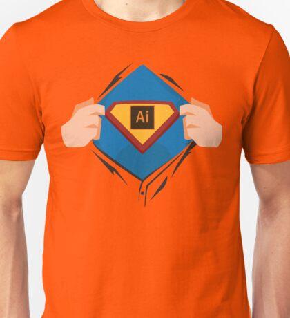 Superdesigner! — Illustrator version Unisex T-Shirt