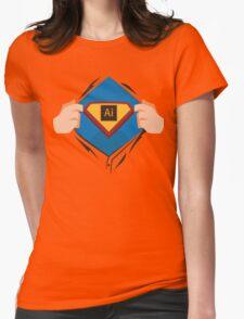 Superdesigner! — Illustrator version Womens Fitted T-Shirt