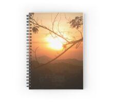Sunset in Santa Teresa, Rio de Janeiro Spiral Notebook