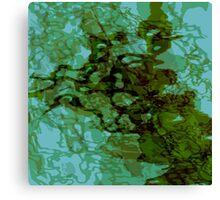 20160929 green oblivion no. 3 Canvas Print