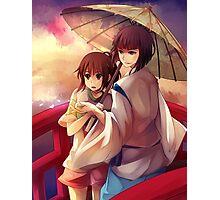 Chihiro and Haku  Photographic Print