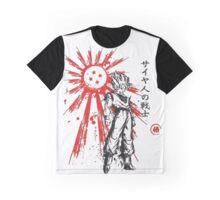 SSJ Goku artwork Graphic T-Shirt