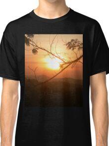 Sunset in Santa Teresa, Rio de Janeiro Classic T-Shirt