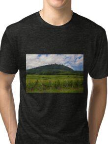 Haut-Koenigsbourg Castle and Surrounding Vineyards Tri-blend T-Shirt