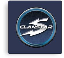 Clanstar Gaming Badge Canvas Print