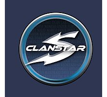 Clanstar Gaming Badge Photographic Print
