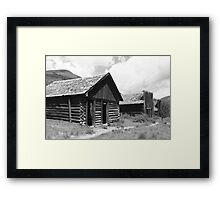 Ashcroft Ghost Town Framed Print