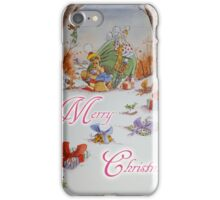 Big Ol' Bear- Dropping off the Gifts iPhone Case/Skin