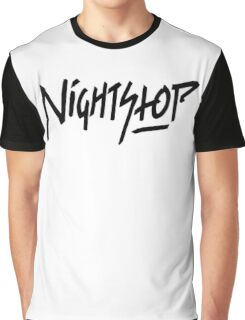NightStop - The Logo 2016 Black Edition Graphic T-Shirt