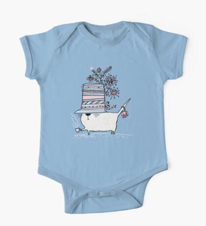 Cup of Tea Cat Kids Clothes