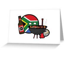 Safaball Greeting Card