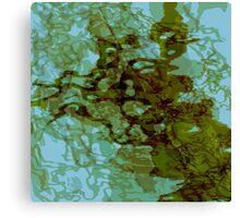 20160929 green oblivion no. 4 Canvas Print