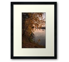 Autumn Crying Framed Print