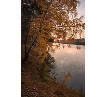 Autumn Crying Photographic Print