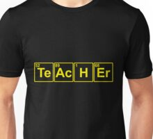 Teacher Formula Unisex T-Shirt