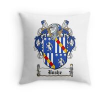 Bushe (Waterford) Throw Pillow