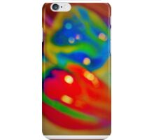 Dreamy peppers abstract iPhone Case/Skin
