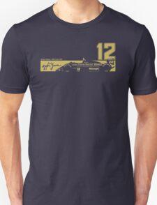 Formula 1's Ayrton Senna's 1986 98T T-Shirt